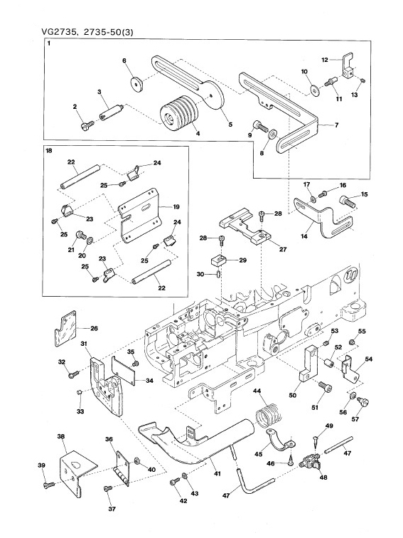 Kgl Supply For Sewing Industrials Spare Parts