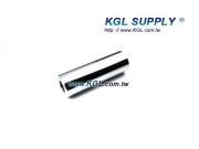 PR34 3 INCH Plain  Roller, 1/2 Bore